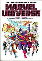 The Official Handbook Of The Marvel Universe Book Of The Dead Vol. 10 - Pha...