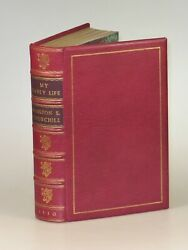 Winston S. Churchill - My Early Life, British First Edition, Finely Bound