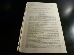 Government Report 1894 Perfect Title Lands At Yuma Colorado
