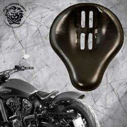 Bobber Seat Indian Scout Since`17 With Mounting Kit And Springs 4fourth Black