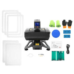 3d Sublimation Pneumatic T-shirts Cup Phone Case Heat Press Transfer Machine New