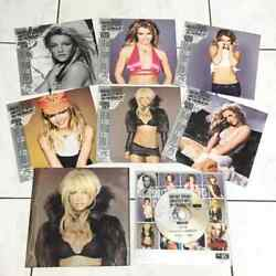 Britney Spears 2004 Greatest Hits Megamix Taiwan Promo Avcd + Calender Cards X 6