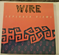 Wire Live - May 1990 Cd + Lyric Book Rare Sconc 025