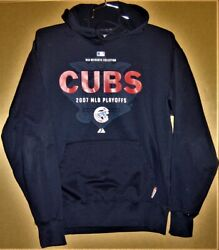 2007 Chicago Cubs Playoff Hoodie And Heavy Team Undershirt
