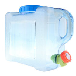 Water Storage Container Camping With Spigot Bpa Free Emergency Water Carrier