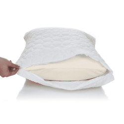 Remedy Cotton Bed Bug and Dust Mite Pillow Protector Queen