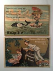 Soapine Soap Kendall Mfg Co. Providence R.i. Victorian Trade Cards 11