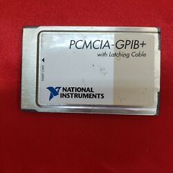 Ni Pcmcia-gpib+ Controller Analyzer Card With Latching Cable
