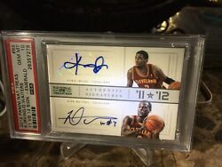 Kyrie Irving Rc 2012 National Treasures Gold Auto 2/10 Jersey Pop 2 Psa 10