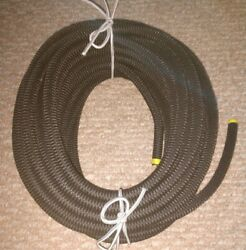 1/2 X 50and039 Black Mfp Cover Bungee / Shock Cord - Industrial Grade - Heavy Duty