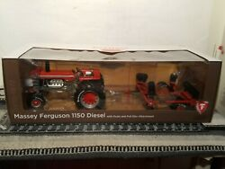 Mf 1150 Diesel W/ Duals And Disc 1/16 Diecast Farm Tractor Replica By Speccast