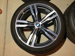 20 Bmw 7 Series Oem Double Spoke Style 648m Wheels Rims And Tires G11 G12 G30 G31