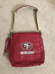 49ers Messenger diaper baby bag crossbody NWOT $29.99