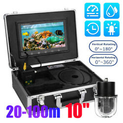 10.1 360anddeghd Video Monitor Fishing Camera Fish Finder Underwater 20m 50m 100m