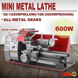 Metal Turning Lathe Machine 2500rpm Automatic Milling 600w Mini Woodworking
