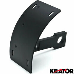 Black Vertical Plate Holder For Kawasaki Concours Voyager Zg 1000 1200