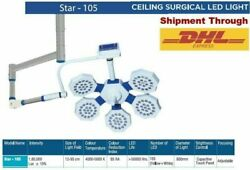 Operation Theater Light Single Dome Surgical Examination Ceiling Led Ot Light @