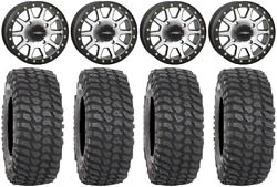 System 3 Sb-3 Machined 14 Wheels 30 Xcr350 Tires Can-am Commander Maverick
