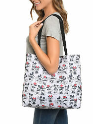 Disney Mickey amp; Minnie Mouse Tote Bag Carry On Travel Beach Bag $20.99