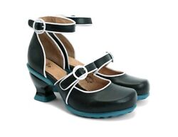 309 Kitschy Kitschy Boom Boom Joy Mary Jane Shoes 8 Ankle Strap Pumps Heels