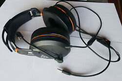 Turtle Beach Elite Pro Tournament Gaming Headset-works But Has Crack And Cord Wear