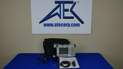 Anritsu S332d Site Master Cable And Antenna Analyzer W/29 Power Meter 25mhz-4ghz