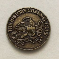 The History Channel Club 1776 Eagle And Liberty Bell Coin Exact Token Shown