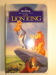 The Lion King. A Walt Disney Masterpiece Collection. Like New. Tested.