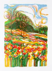 Ronald Julius Christensen, Spring Fever, Lithograph, Signed And Numbered In Penc