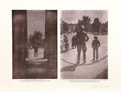 Les Levine, Perception..., Photo-etching, Signed And Numbered In Pencil