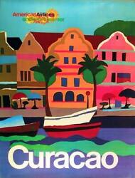 Travel Poster American Airlines - Curacao Poster