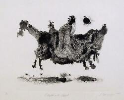 Ronald Jay Stein, Flight Into Egypt, Etching, Signed And Numbered In Pencil