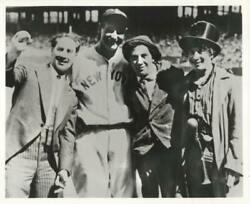 Unknown Artist The Marx Brothers With Lou Gehrig Reproduction Photograph