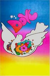 Peter Max Dove Poster