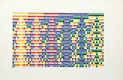 David Roth, Untitled Ii, Acrylic Painting On Arches Paper, Signed And Dated
