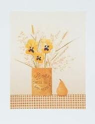 Mary Faulconer, Ginger Beer, Lithograph, Signed And Numbered In Pencil