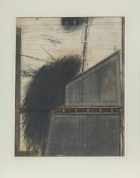 Karl Fred Dahmen Bastion Etching With Aquatint Signed Numbered Dated And T