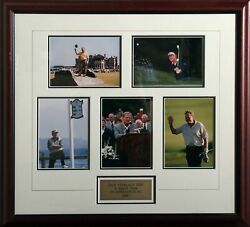 Unknown Artist Jack Nicklaus Photograph Collage Collectible