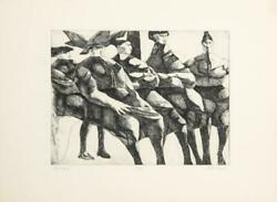 John Fenton Italian Women / Family Ii Etching And Aquatint Signed And Numbere