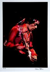 Alan Herr Hendrix 2 Photograph Signed And Numbered In Permanent Marker
