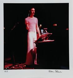 Alan Herr Frank Zappa 1 Photograph Printed On Epson Signed And Numbered In Pe