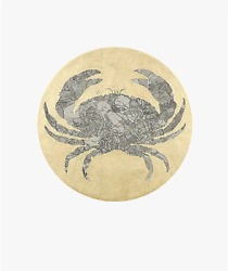 Guillaume Azoulay Zodiac Cancer Crab Screenprint Signed In Pencil