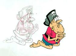 Jay Ward, Untitled - Cap'n Crunch Pirate 1, Acetate Cel And Pencil Drawing
