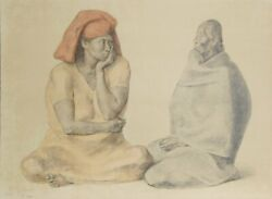 Francisco Zuniga El Rebozo Lithograph Signed Numbered And Dated In Pencil