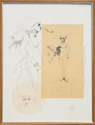 Ramon Santiago Untitled - Number 5 38 Lithograph Signed And Numbered In Pen