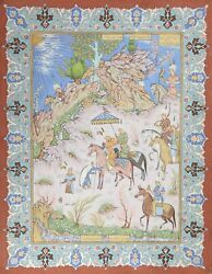 Unknown, Iranian, Persian Theme Painting 5, Gouache On Board