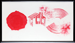 James Rosenquist Hot Lake 2nd State Aquatint Etching Signed And Numbered In