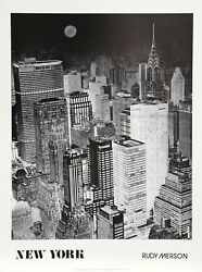 Rudy Merson, New York, Poster
