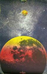Peter Max Outer Space Poster