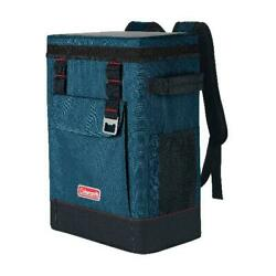 Coleman 28 Can Portable Soft Cooler Backpack Space Blue $55.65
